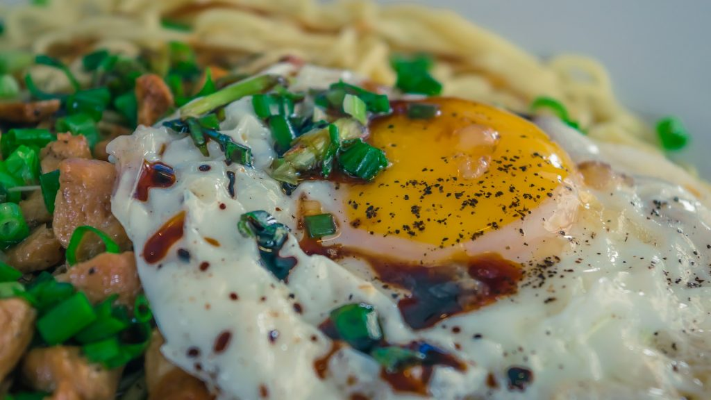 A scrambled or sunny-side egg adds a tasty touch to any breakfast taco.