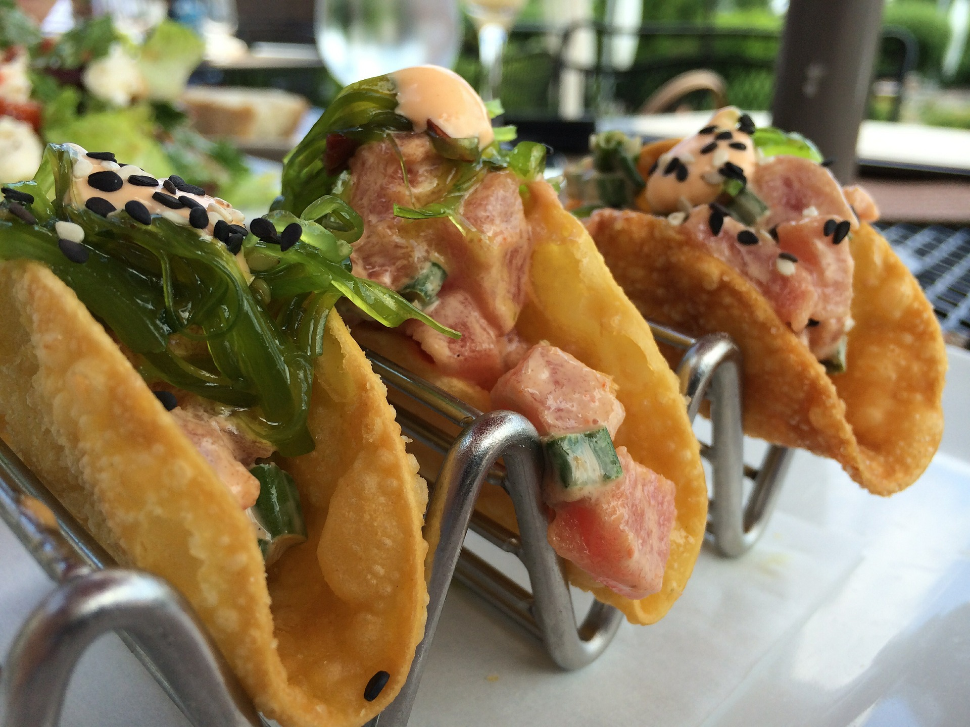 Try a banh mi flavored taco the next you stop by the Peached Tortilla.